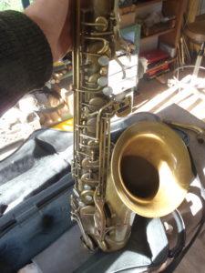 saxophone ténor Borgani